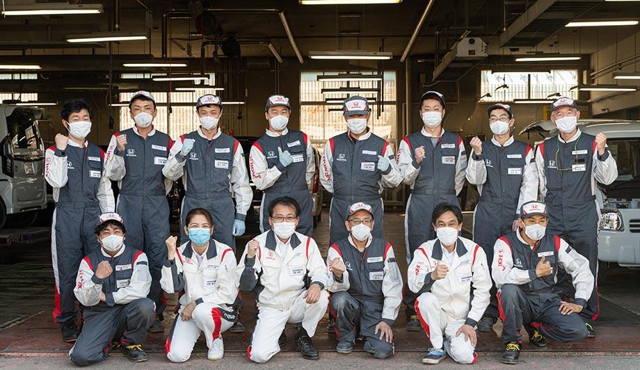 Honda Cars 札幌中央 ボディサービス札幌