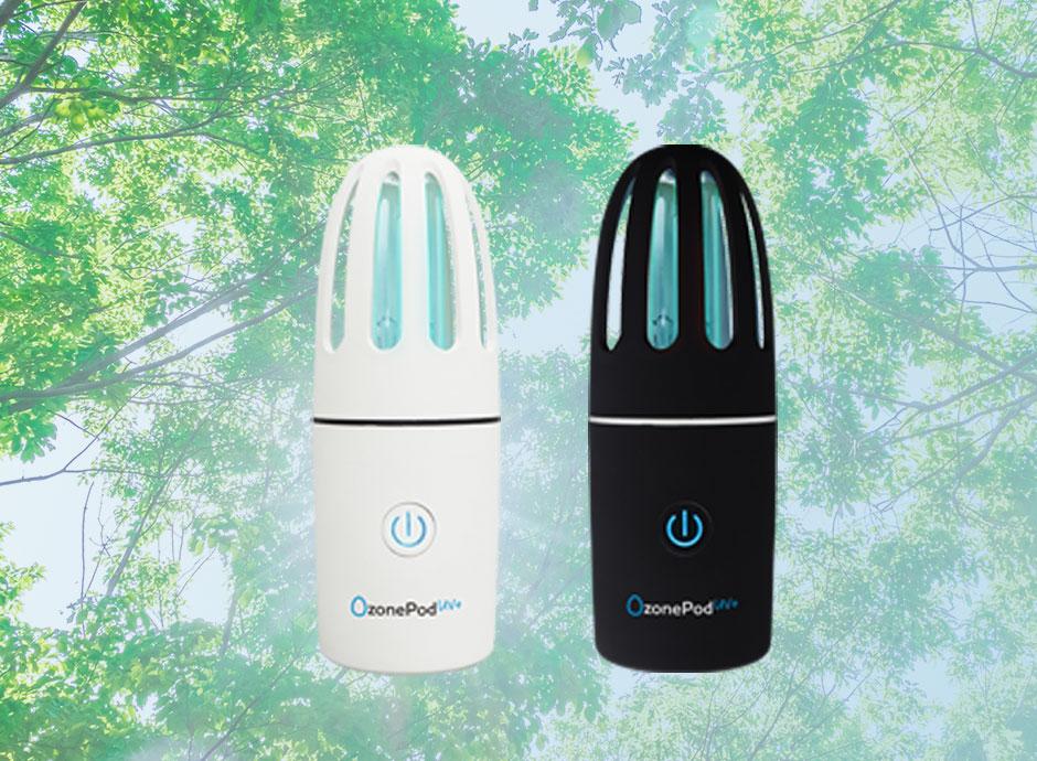 オゾン&紫外線 消臭・除菌ランプ OzonePod UV+(オゾンポッド)